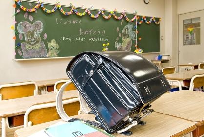 新入学教室風景