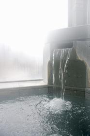 大浴場の湧出口