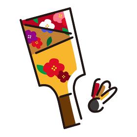 日本文化素材 / 縁起物羽子板