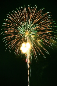 三重県の熊野大花火大会