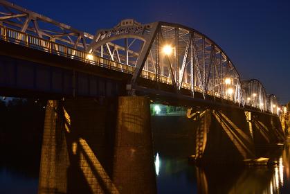太田橋の夜景