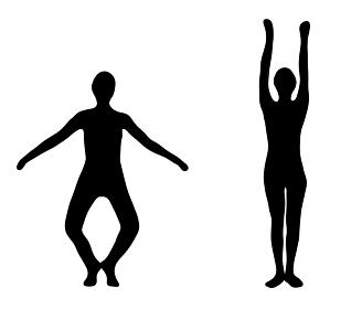 体を伸ばして健康を維持するラジオ体操