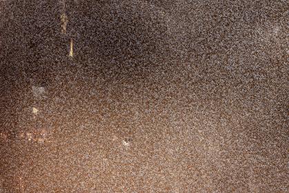 錆びついた茶色い鉄板のテクスチャ