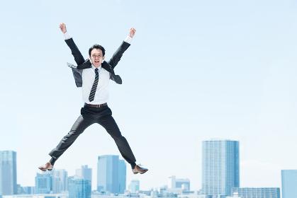 ビジネスイメージ(上昇・勢い・飛翔)