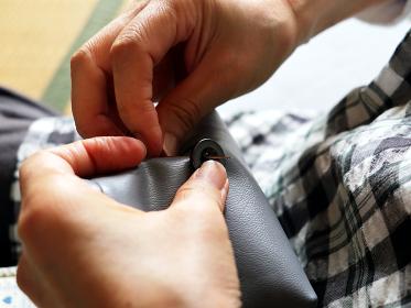 裁縫 ボタン付け 3