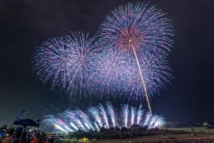 茨城県・常総きぬ川花火大会 2018