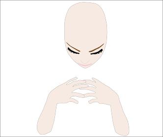 悩む女性の美容イメージ