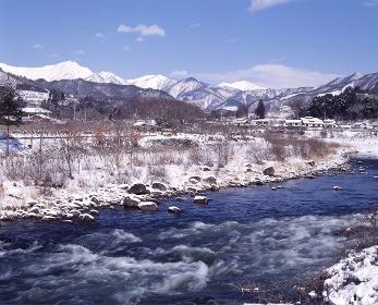 冬の利根川