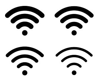 通信 Wi-Fiアイコンセット