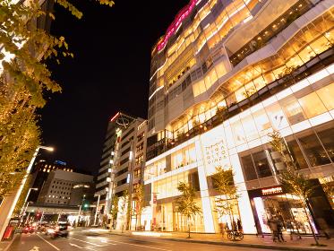 夕暮れの銀座 東京都