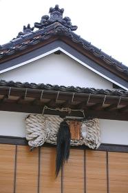 出羽三山神社の引綱
