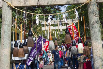 筆祭風景 熊野/広島県