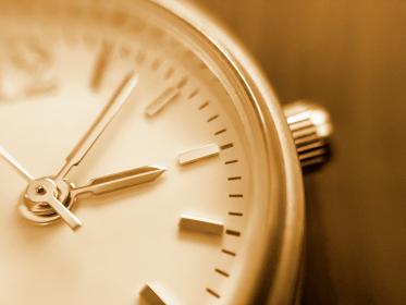 古い腕時計の文字盤 2