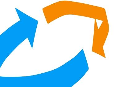 拡大した矢印のリロードのイメージ