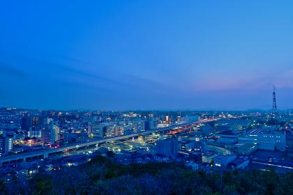 北九州市八幡区の都市夜景