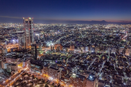 東京都・新宿区 東京都庁北展望室からの夜景