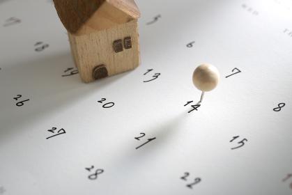引っ越しとカレンダー