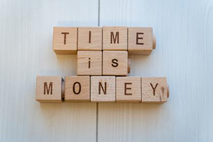 TIME IS MONEY 時は金なり