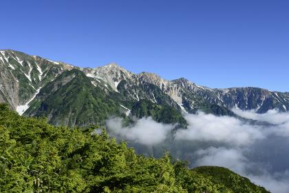 白馬・八方尾根から見ることが出来る北アルプスの山々