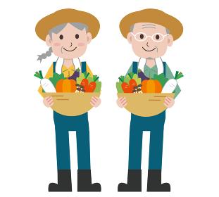 農家 野菜 お年寄り