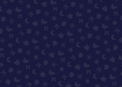 クリスマスモチーフ柄 シームレスパターン スウォッチデータ有り(ネイビー)