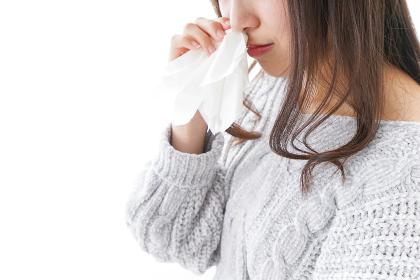 鼻血が出た女性
