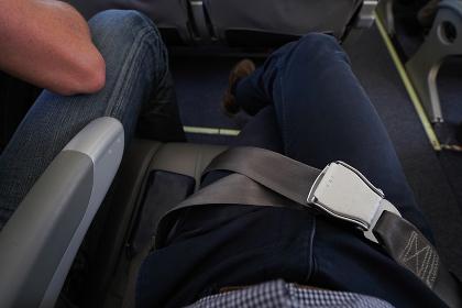 飛行機・シートベルト