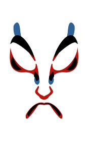 歌舞伎の隈取 鳴神