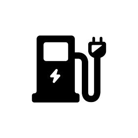 電気自動車 充電施設 充電ステーション アイコン