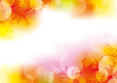 秋イメージの背景イラスト