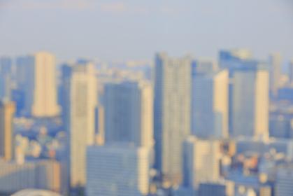 東京都心背景素材ピンボケ写真