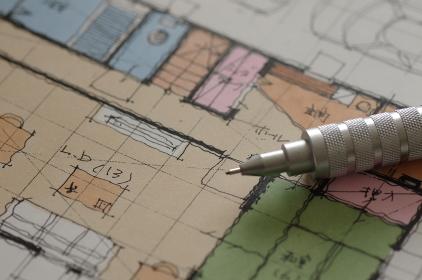 家の図面(設計図)