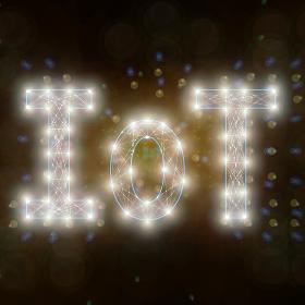 IoTの文字
