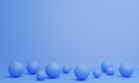 球状の抽象的3DCG画像背景
