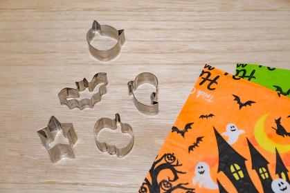 ハロウィンの金型 お菓子作り