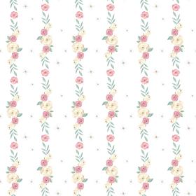 バラのパターンイラスト