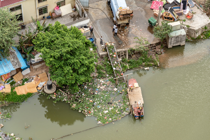 中国 川掃除