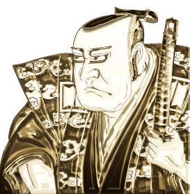 浮世絵 歌舞伎役者 その15 金バージョン