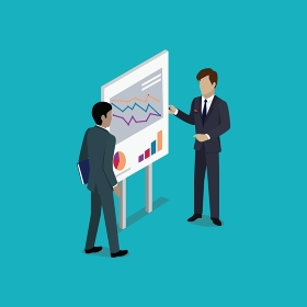 Business Report Isometric. Startup teamwork brainstorming office meeting. Isometric realistic poses. 3D flat vector isometry icon. Business report isometric. Isolated isometry business report. Isometric graphic report