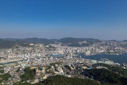 稲佐山展望台からの長崎市街地眺望