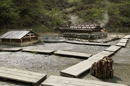 日光湯元温泉の源泉
