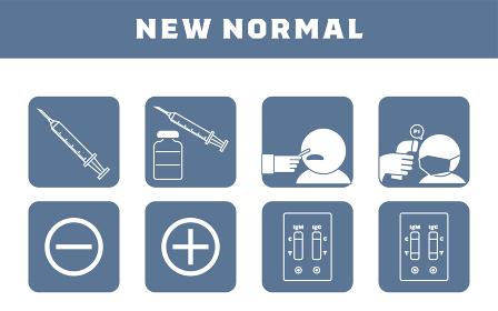 ワクチン接種やPCR検査、抗体検査などのセット