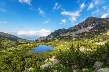 Scenery summer landscape, Pirin Mountain, Bulgaria.