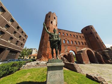 Porta Palatina (Palatine Gate) in Turin