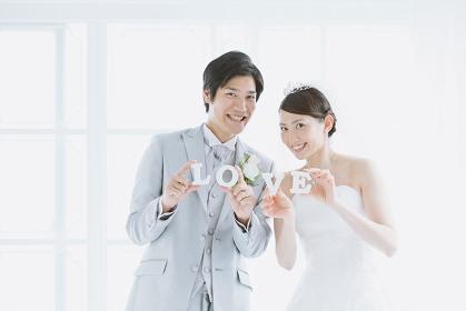 日本人カップルのウェディング