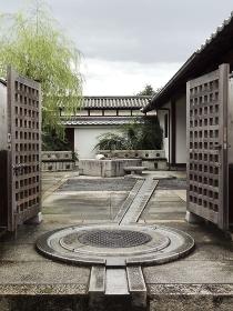 重要伝統的建造物群保存地区今井町の消火用水の貯蔵所