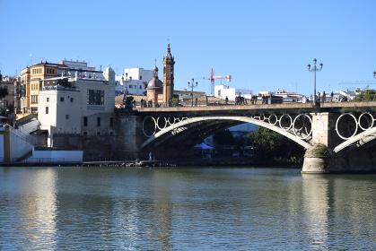 イサベル2世橋、セビリア、スペイン