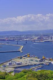 小名浜港遠望