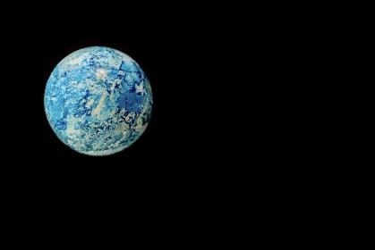 地球のイメージ / 黒背景