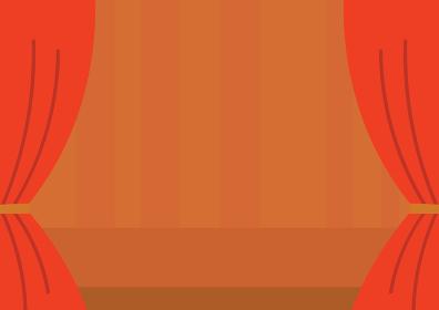 舞台の背景イラスト 横